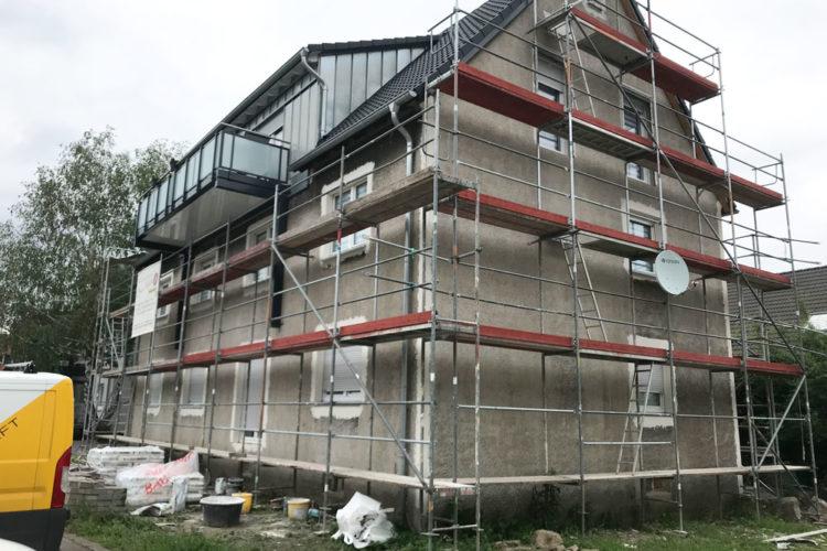 Sanierung Mehrfamilienhaus, Kalthof